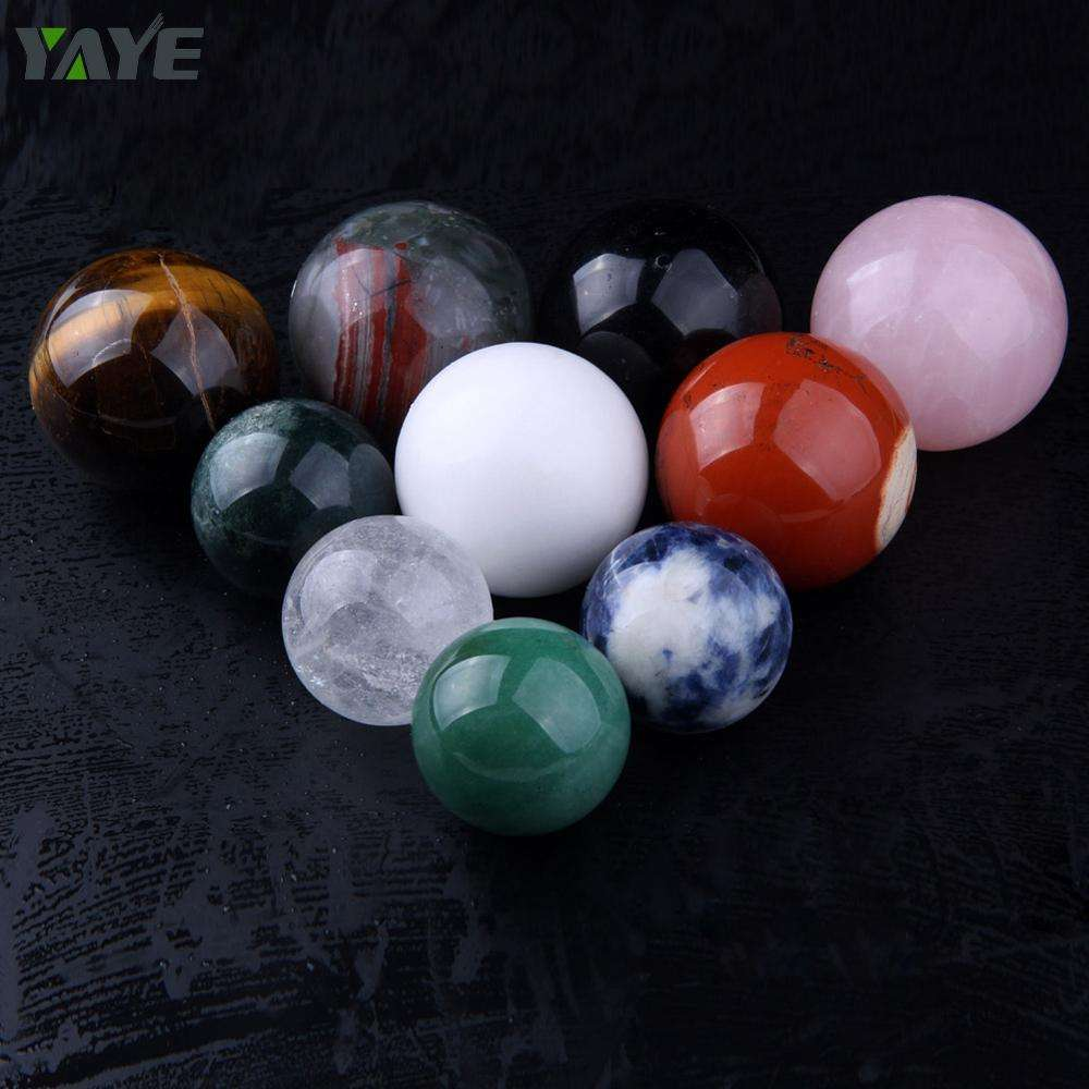 Colorful Gemstones Balls Spheres /Semi-precious Stones Ball/Crystal Ball Spheres