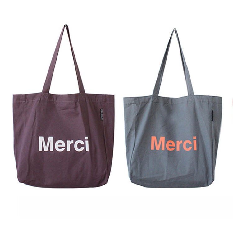 Wholesale Eco Friendly Custom Logo Printed Foldable Durable Grocery Canvas Shopping Cotton Tote Bag