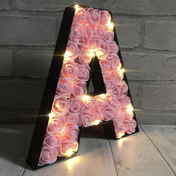 bulb marquee led letter illuminated sign flower luminous