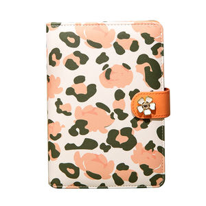 Leopard print series A6 loose-leaf planner notebook
