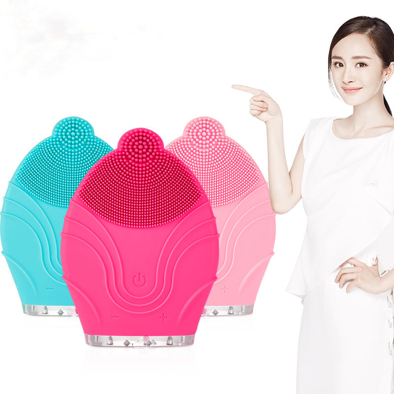 Sain Newest silicone facial cleansing brush best beauty device at home beauty personal care