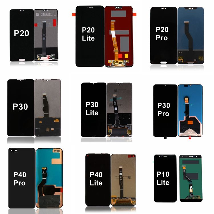 P10 P20 P30 P40 לייט LCD מסך עבור Huawei 8 P8 P9 P10 P20 P30 Pro LCD תצוגת <span class=keywords><strong>Digitizer</strong></span> עם מגע החלפת עצרת