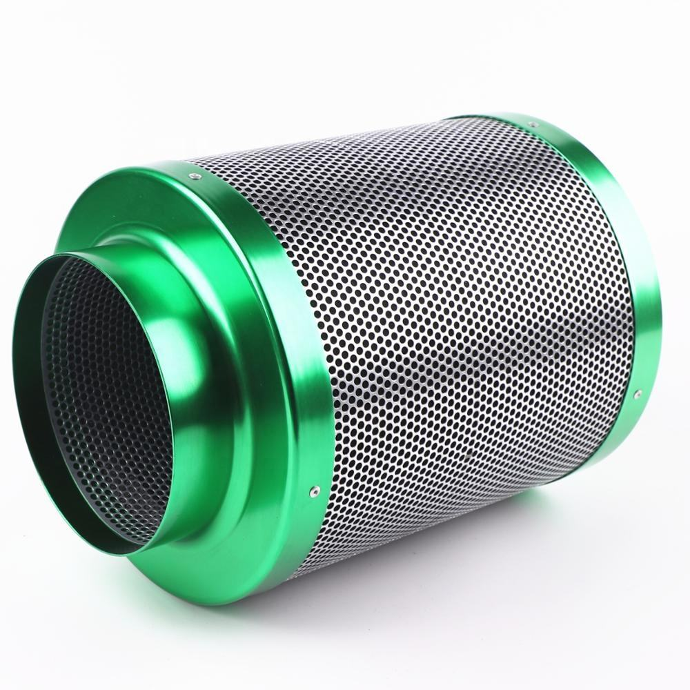 High CFM inline carbon air filter for grow tent kits and hydroponic growing system