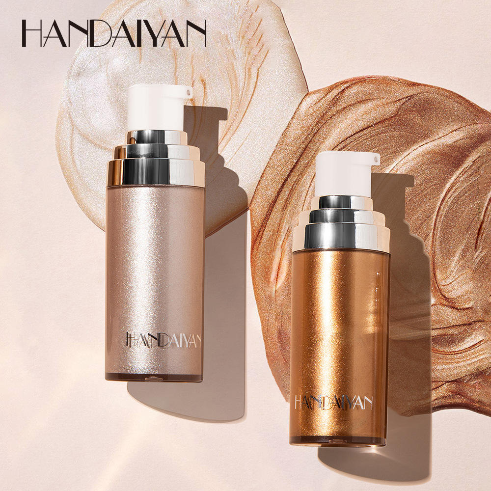 European and American body highlighting liquid foundation body brightening lotion highlighting body lightening liquid foundation