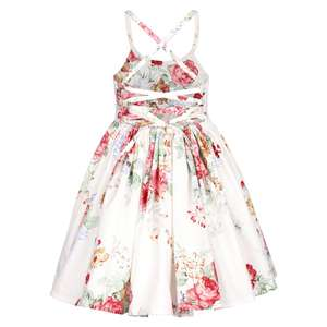 RTS Children's Clothing Factory Backless Straps Clothing Baby Cotton Clothes Girl Dress