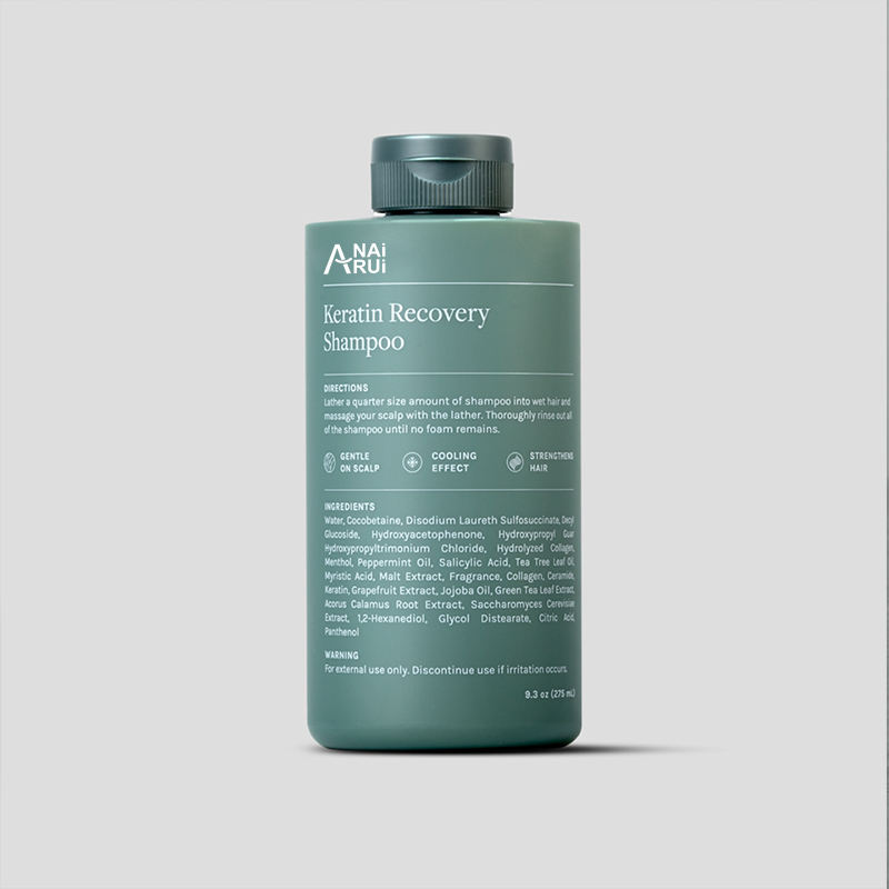 Keratin Recovery Shampoo With Green Tea Boosts Hair Growth And Strengthens Follicles Nourishes The Scalp Men Organic Shampoo