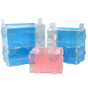 2020 Hot Sale Wholesale Large 1-2 Layer Acrylic Pet Hamster Box