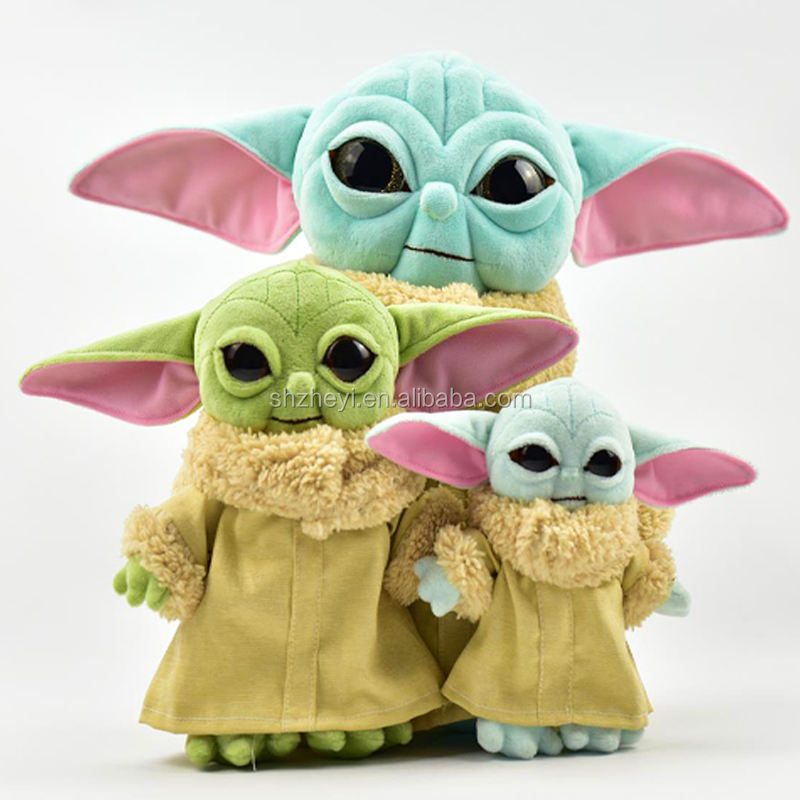 15cm Keychain Baby Yoda Plush Toy Doll Keychain Action Figure Toys Amazon Hot Sale