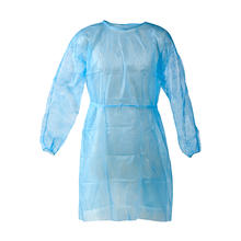 Disposable Protective Clothing, PP Medical Isolation Gowns - Elastic and Knitted Cuffs