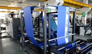 Allwell Cheap Non Woven Bag Making Machine Non Woven Bag Fully Automatic Machine