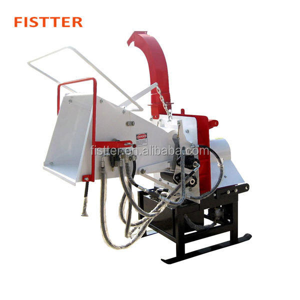CE Approved Tractor Mounted 3 Point Wood Chipper Shredder For Sale