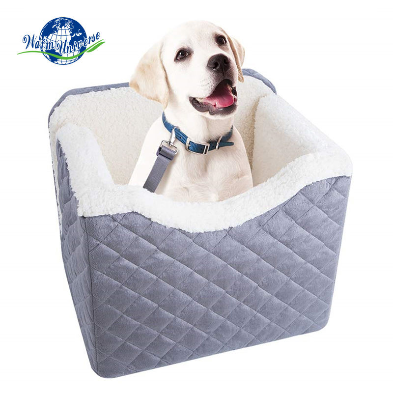 2019 New Item Dog Car Seat Raised Dog Booster for Medium and Large Dogs Travel Carrier