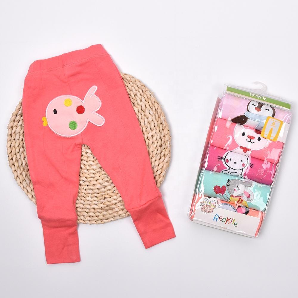 Autumn infant newborn boy girl cute fashion Various cartoon prints long length legging pants baby
