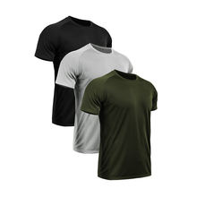 Sport t shirt manufacturer fitness t-shirts short sleeve men's dry fit mesh breathable gym athletic t shirts in bulk