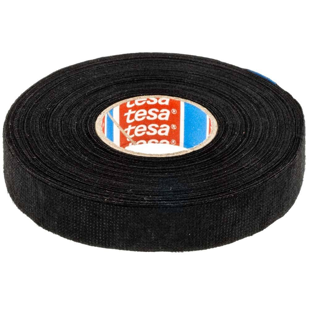 Tesa 51036 Flag-resistant PET Cloth Tape for High Abrasion Protection of Automotive Harnesses