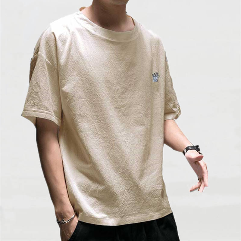 Wholesale Youth Personalized Half Sleeve Custom Hemp T Shirts