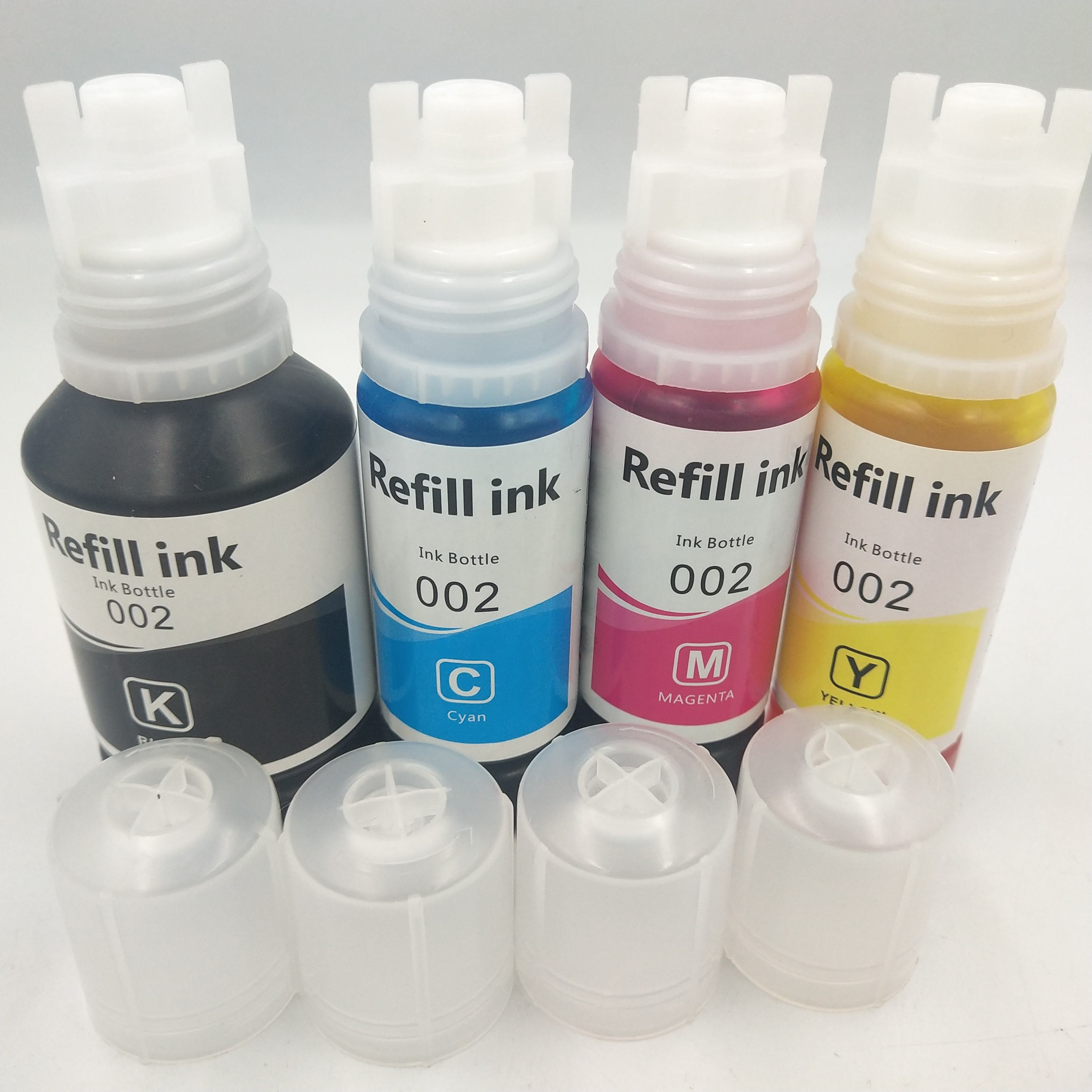 New Eco tank bottle 544 dye ink for epson L4150 L4160 L6161 L6171 printer with 70ml package
