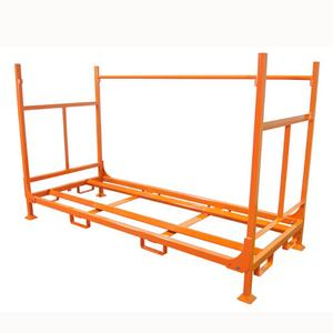 Impilabile heavy duty pneumatico metallo display stand rack per il magazzino
