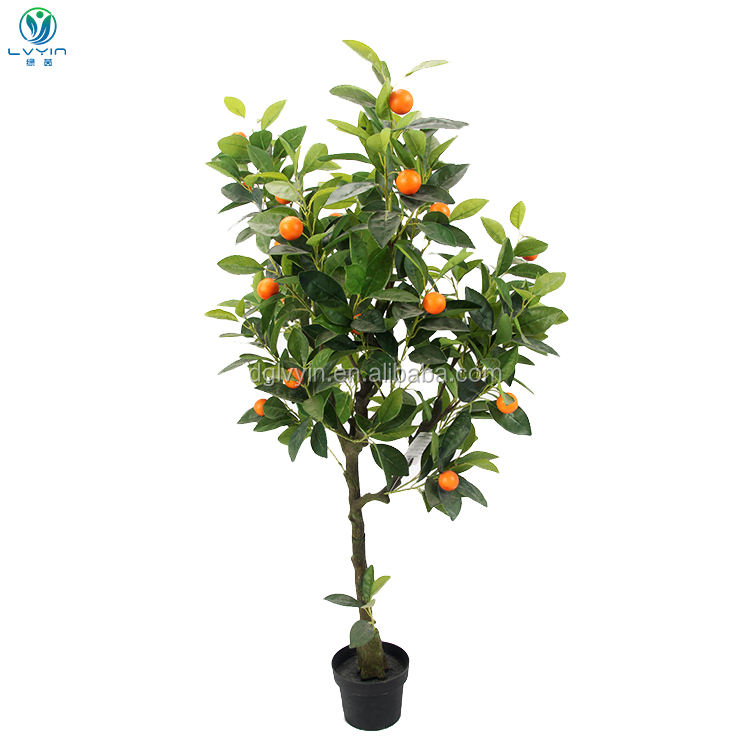 BUYING PLASTIC TREES SALE ARTIFICIAL FRUITS TREES ARTIFICIAL ORANGE TREE