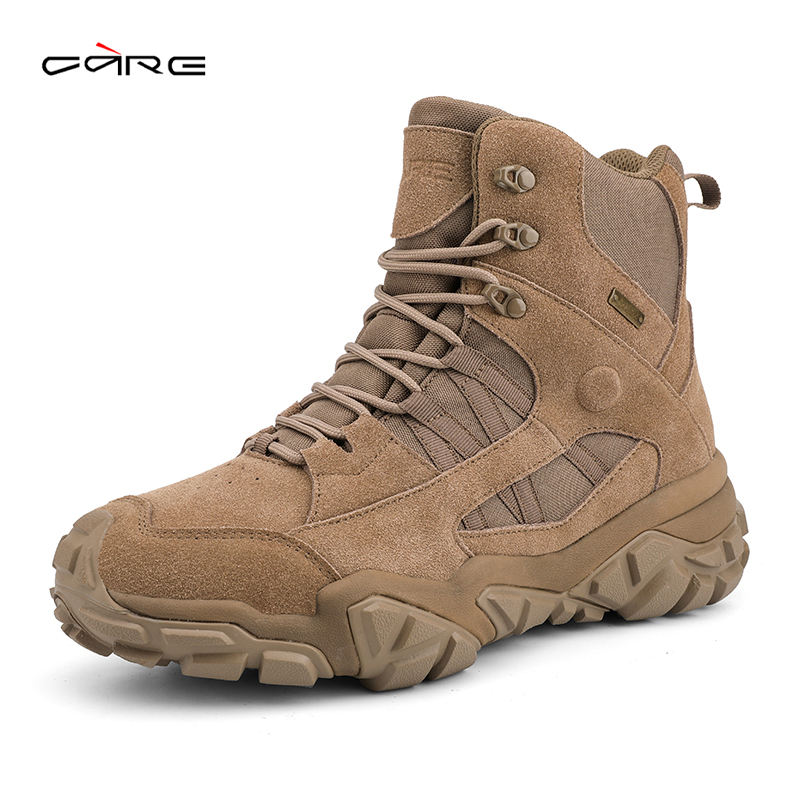 Widely Used Superior Quality Waterproof Outdoor Shoes Tactical Hiking Men's Boots