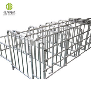 Poultry pork gestation crate for sow hot dip galvanized material