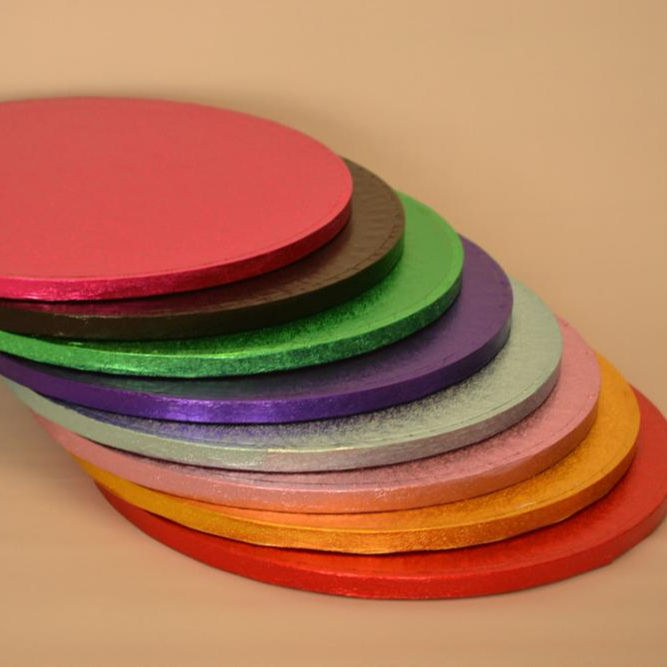 Custom Colorful Corrugated Cake Board With competitive price