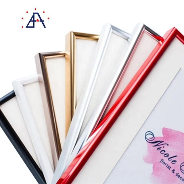 Alloy 6063 Color Powder Coated Aluminum Photo Picture Frame