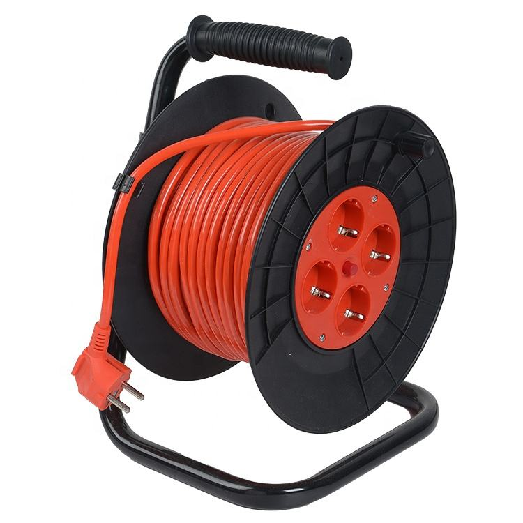 German type 10m retractable industrial cable reel