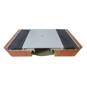 Durable construction aluminum alloy floor deformed expansion joint