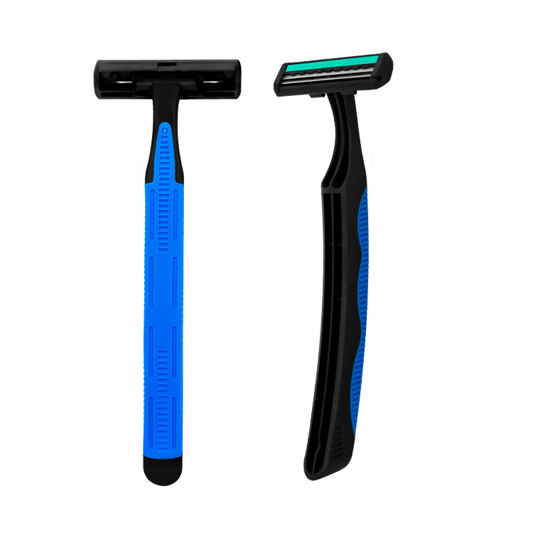 B244GL2 disposable razor daily hotel use twin two 2 blade shaving razor blade for man male woman lady female