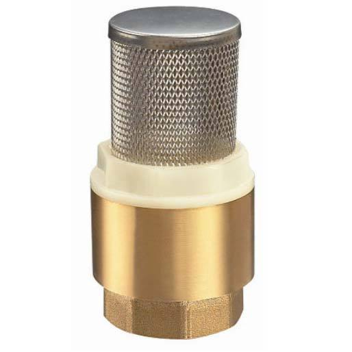 brass check valve vertical stainless filter for water pump
