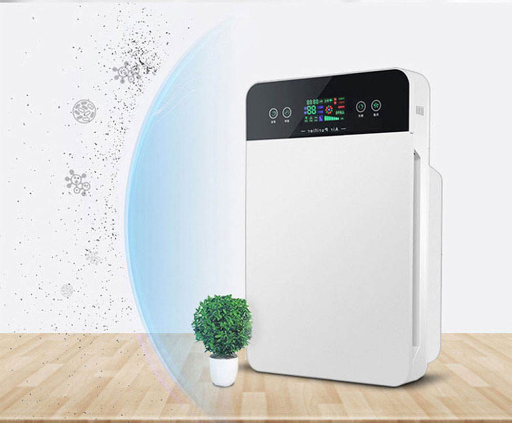 Best Price Air Purifier factory OEM / ODM in 2019 Negative Ion Air cleaner for PM2.5 Home Portable Ionizer