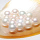 xygems 3.0mm~4.0mm round shape freshwater pearls natural pearl for earring