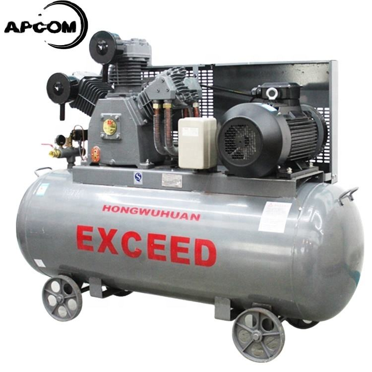 APCOM 50 CFM 145 psi 1000L/min HW15012 40CFM 12bar with 500L tank 11kw 15hp piston air compressor