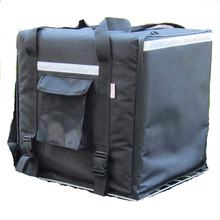 65L Black Insulated pizza delivery backpack bag