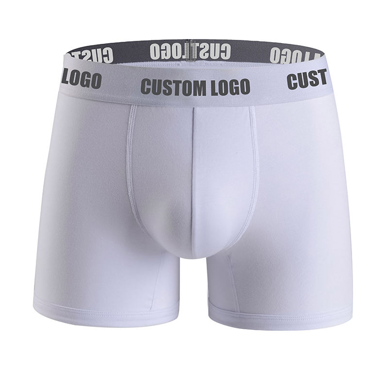 Wholesale Men Boxers Breathable Underwear Men Sexy Briefs Men Custom Logo Young Boys Shorts Underwear