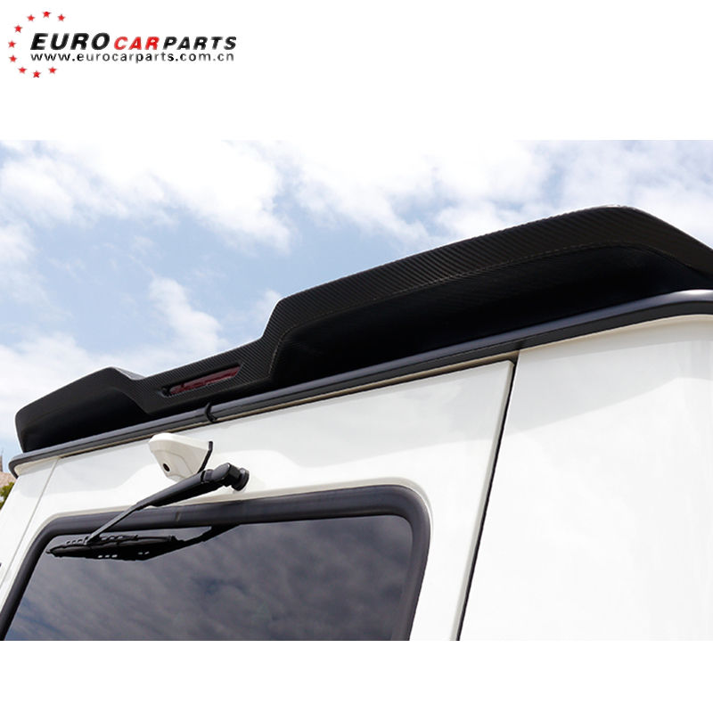 G class w463 WD style rear wing for G350 G500 G63 G65 roof spoiler FRP material car parts for W463