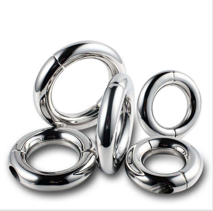 Männlich Metall Edelstahl Runde Cock <span class=keywords><strong>Ring</strong></span>