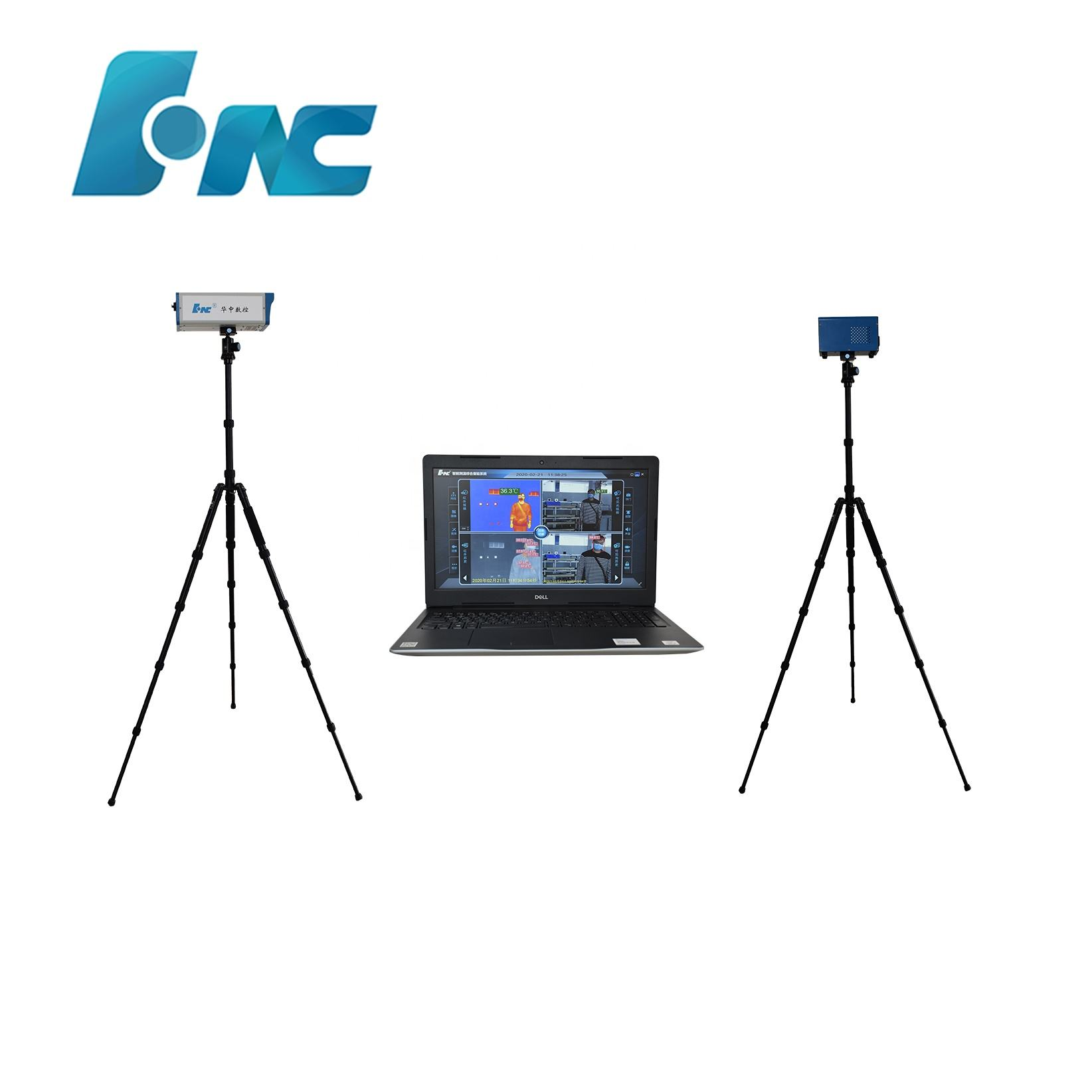 China best Non contact fast body temperature measure infrared thermal imaging camera price for airport