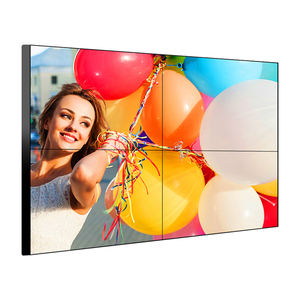 Indoor Advertising Display 4K Panel Screen 2X3 3X3 2X2 3X2 43 55 Inch Monitor Lcd Video Wall