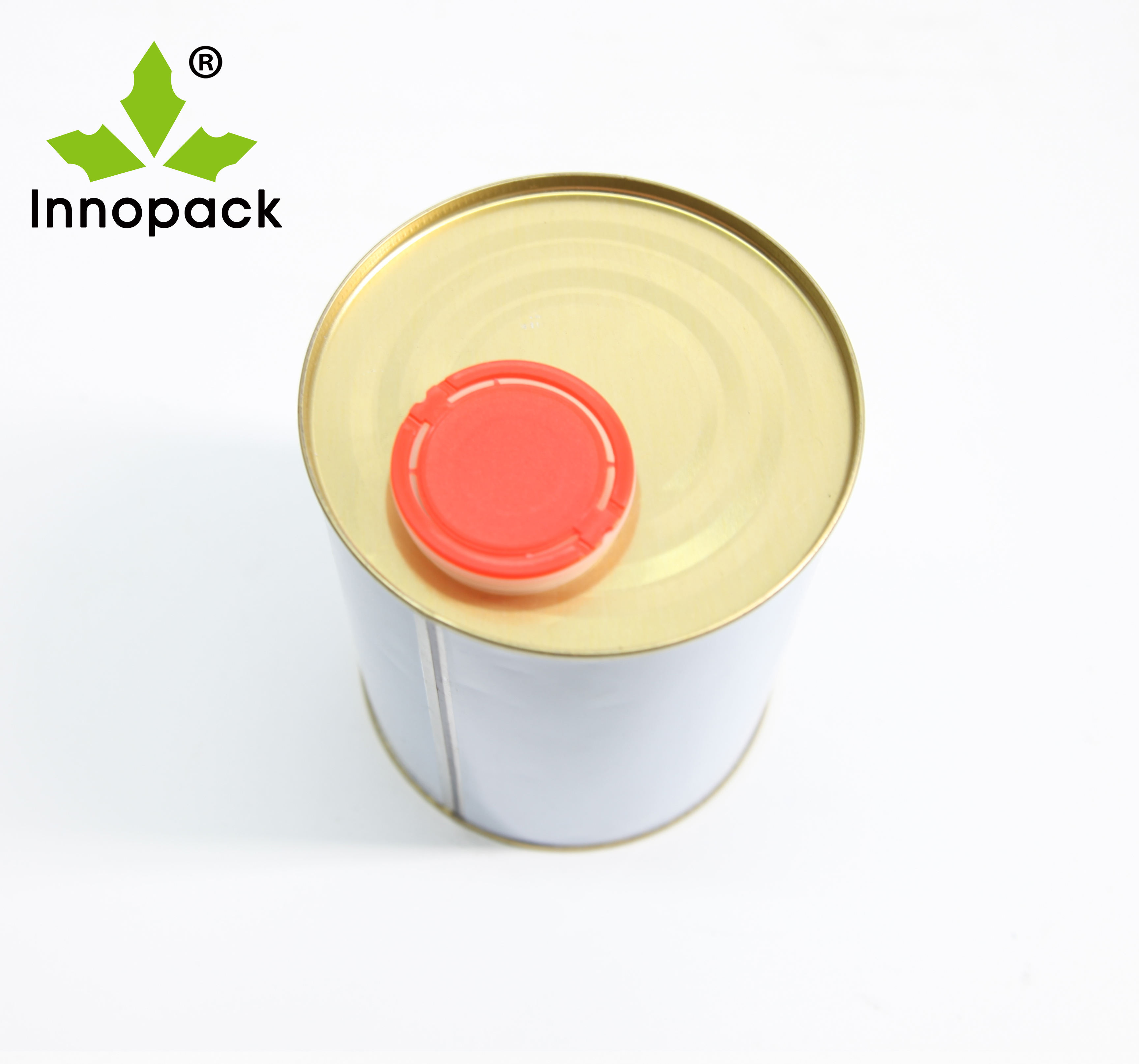 Tighthead 1L round metalcans paint pail 1 liter tin cans with sealed lid for paint use
