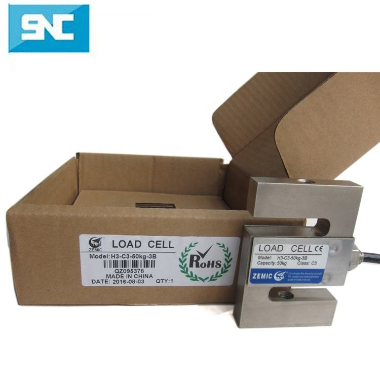 H3-C3-500kg H3-C3-5.0T Zemic Load Cell Loại S
