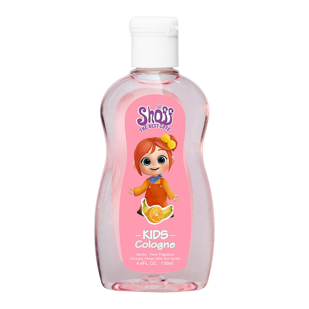 Shoff Baby Parfum Alcohol Gratis Aangenaam Geurende Cartoon Afbeelding Body Mist Kids Cologne