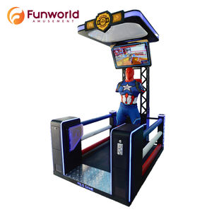 Coin Operated Electronic Entertainment Arcade Boxing Machines