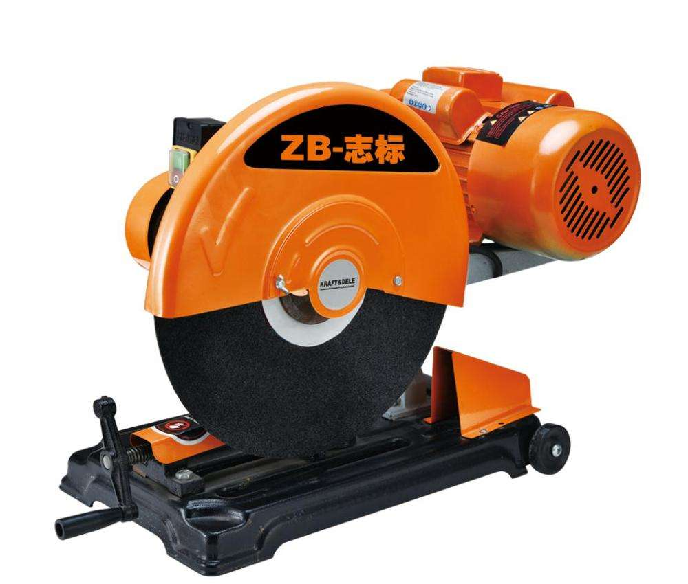 "ZHIBIAO Factory High Quality cut off machine 14"" 355mm J1G-ZB-400 Belt 3000W"
