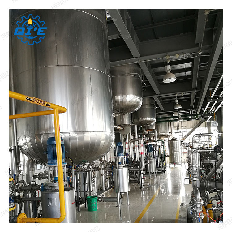 Cottonseed oil production line refinery plant cottonseed oil press mills 100 tpd