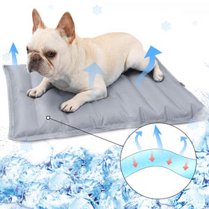 Pet Dog Cooling Mat Summer Water Filling Gel Pet Pad Bed Ice Water Cool Pad for Pets