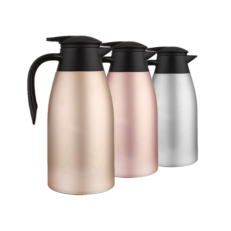 Heat & Cold Retention Hot Water Pot Double Walled Vacuum Insulated Thermos