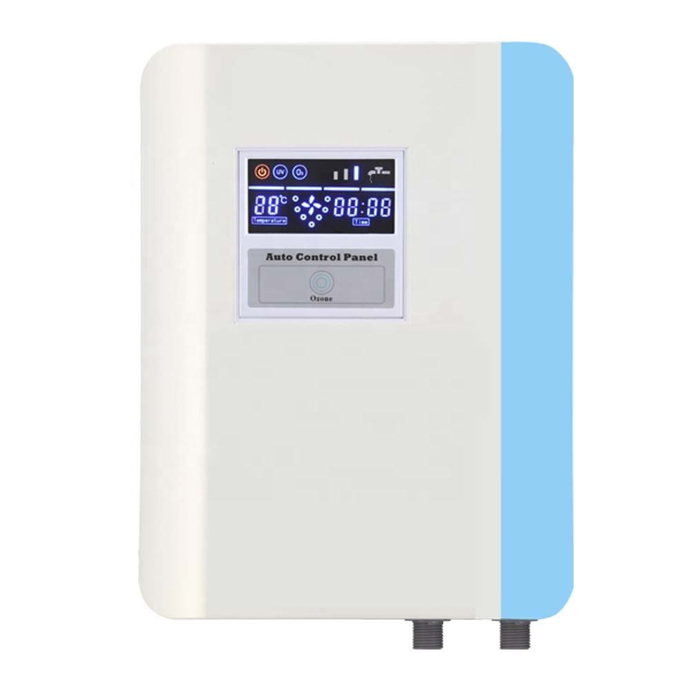 AQUAPURE kitchen or bathroom ozone water purifier and ECO laundry washer washing machine ozone generator disinfector system