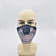 New arrival 2020 cosplay masquerade Christmas sound activated el mask led light up flashing rave party mask for club